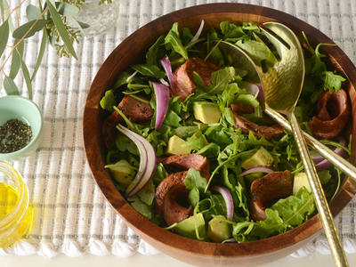 Paleo Steak Salad