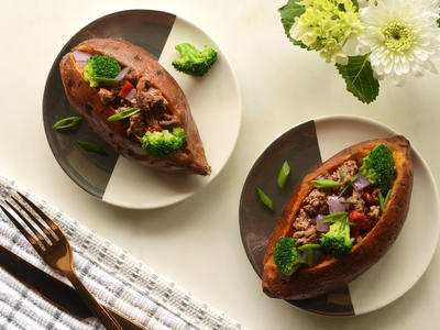 Paleo Stuffed Potato