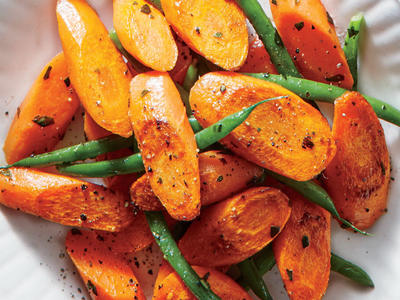 Tarragon Carrots with Green Beans