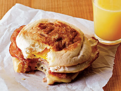 Ham and Swiss Egg Sandwiches Comfort Food Recipe