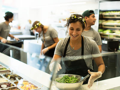 Sweetgreen Produce Bar Cooking Light 30 Faces of the New Healthy