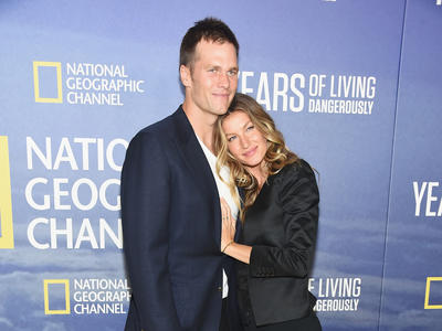 Gisele and Tom