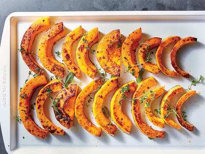 Roasted Butternut with Sage and Thyme
