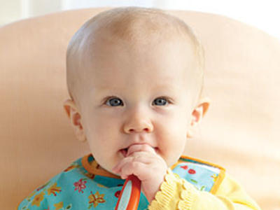 Baby with Spoon