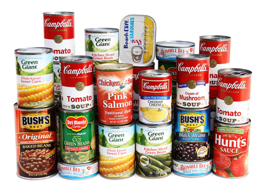 Assorted Canned Goods