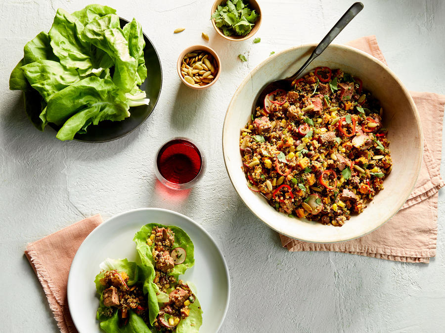 This Meal-Prep-Worthy Quinoa Taco Salad Tastes Even Better the Next