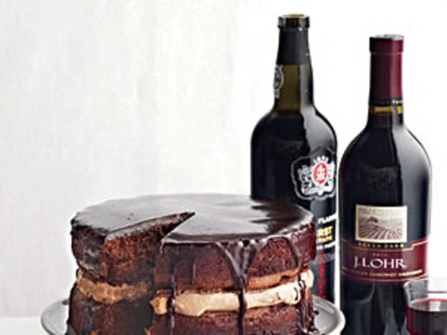 Pairing Wine With Chocolate Cake