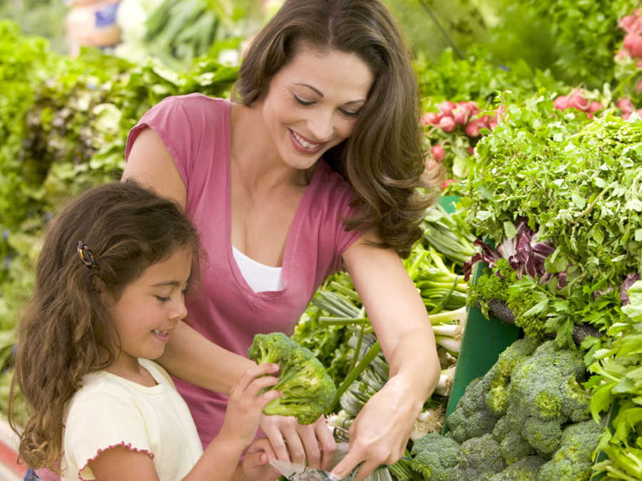 Take Your Child to the Market Day
