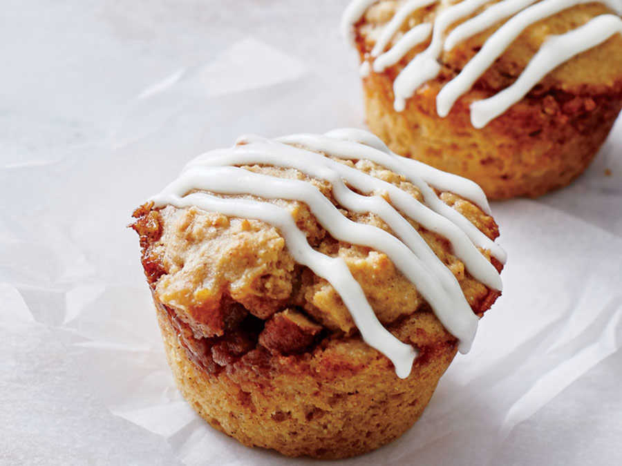 Cinnamon Roll Muffins Recipe - Cooking Light