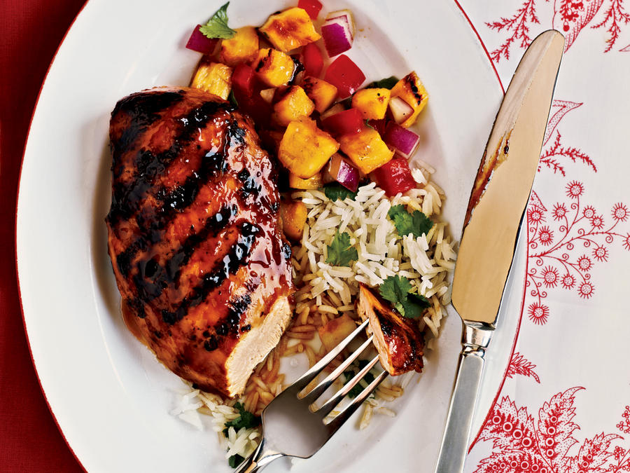 Hawaiian chicken recipe cooking light forumfinder Image collections