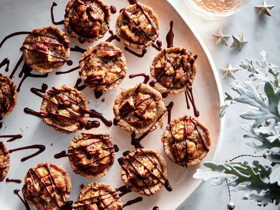 Bourbon-Pecan Tassies