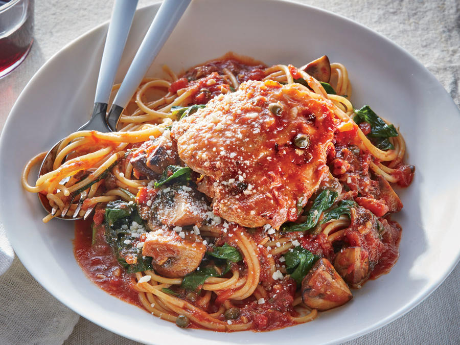Slow Cooker Chicken Cacciatore Recipe Cooking Light