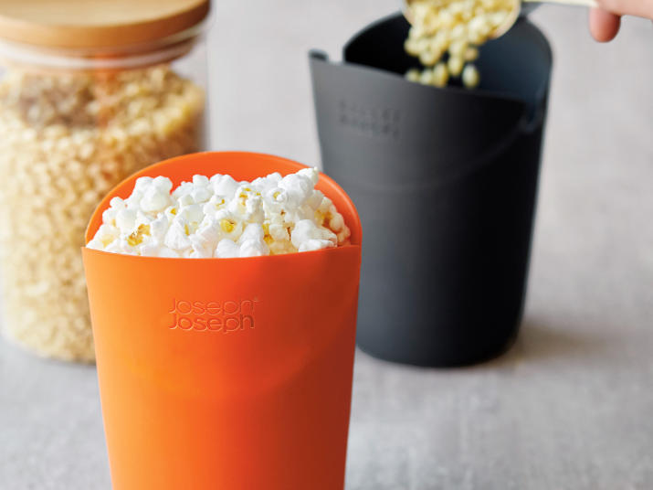 Your New Favorite Microwave Popcorn Maker Has Arrived, for