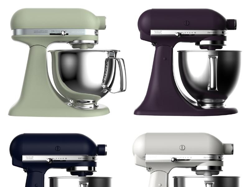 See Kitchenaid S New Food Inspired Stand Mixer Colors