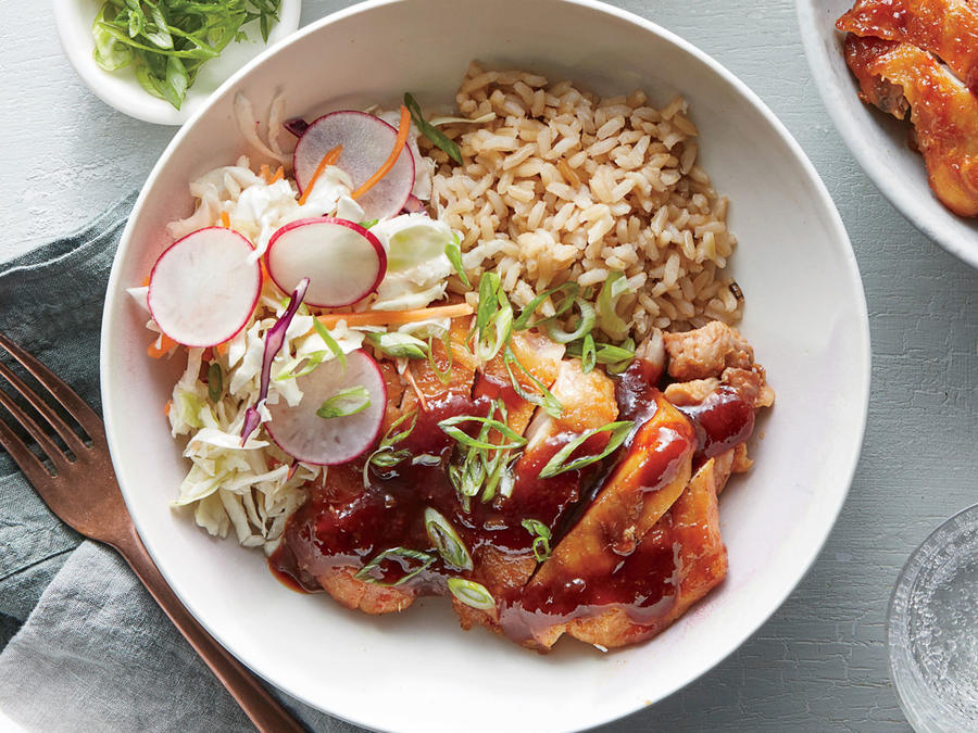 Sweet And Sour Chicken Bowl Recipe Cooking Light
