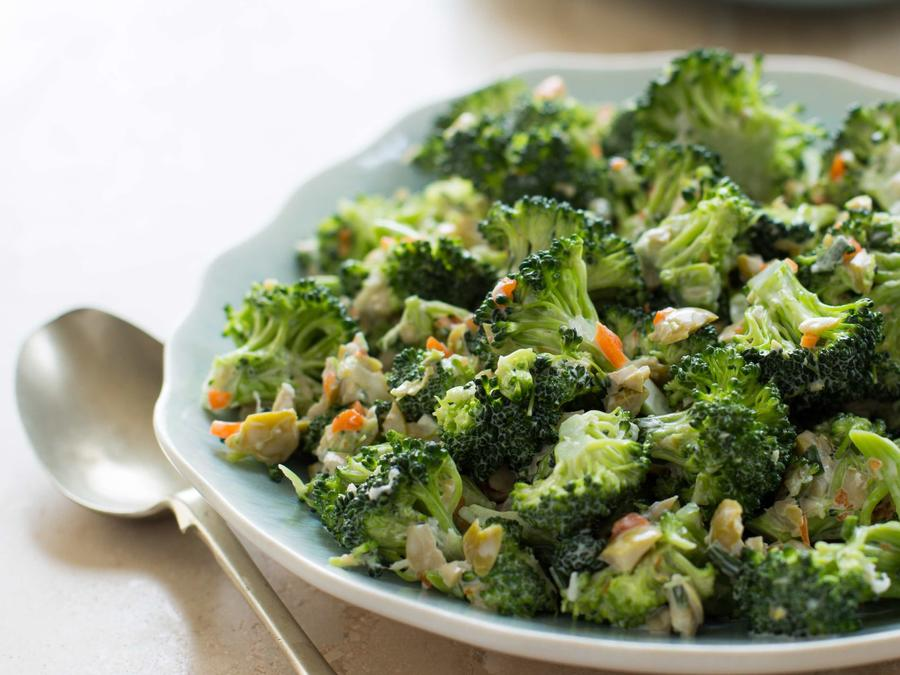 Lucy's Favorite Raw Broccoli Salad