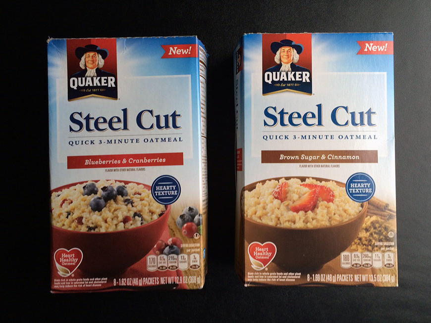quaker steel cut oats microwave nutrition bestmicrowave