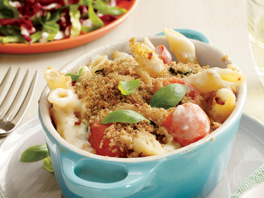 Caprese Mac and Cheese