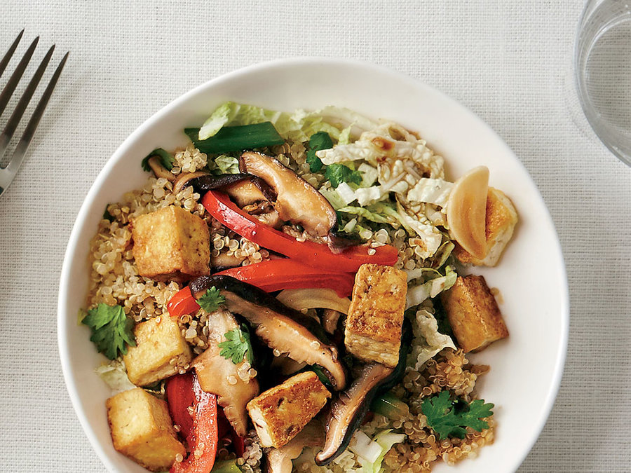 Asian Stir-Fry Quinoa Bowl