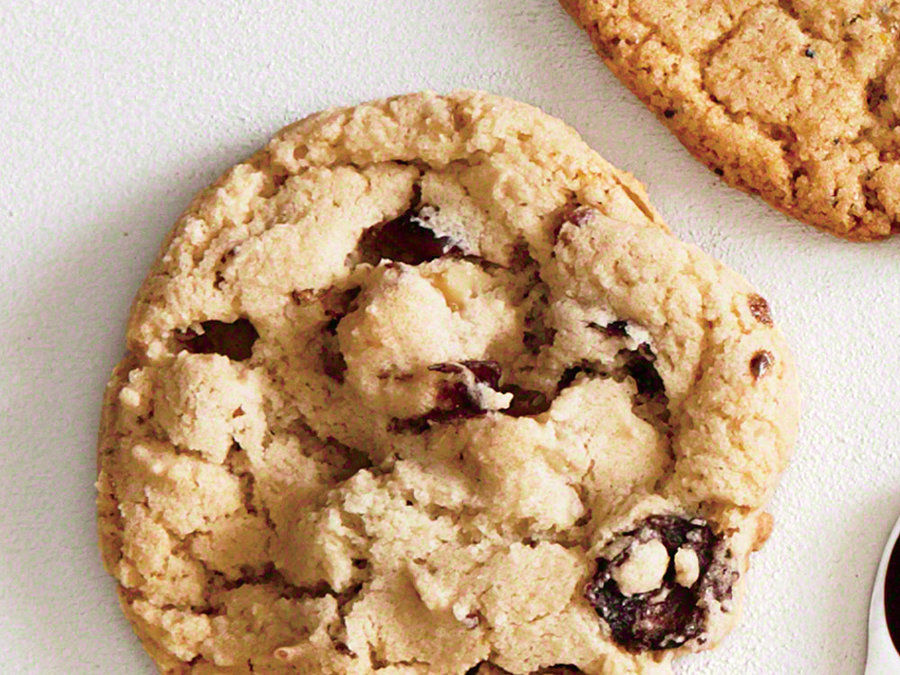 bourbon cranberry and walnut cookies recipe