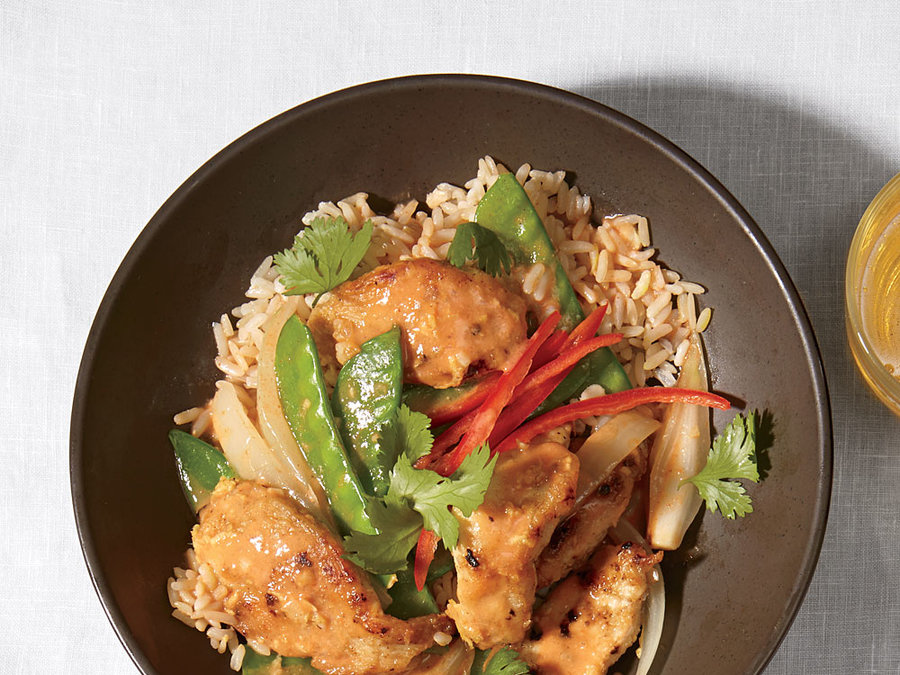 Quick Chicken Curry - Fast-Cooking Stir-Fries and Sautés ...
