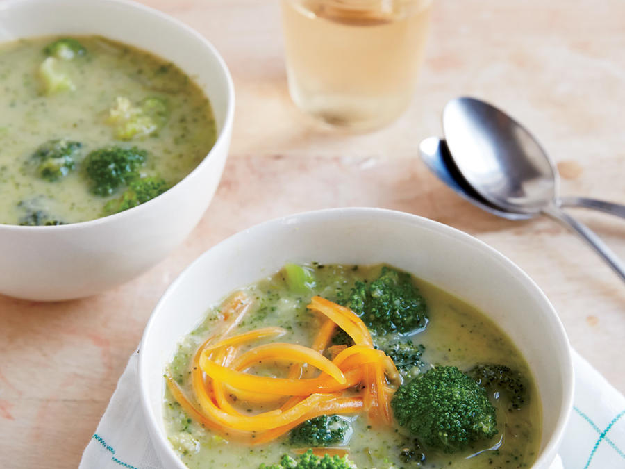Creamy Broccoli-Cheese Soup