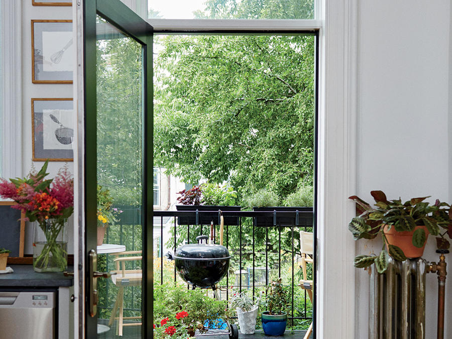 Open-Door Policy - Inside a City-Chic Kitchen (That's ...