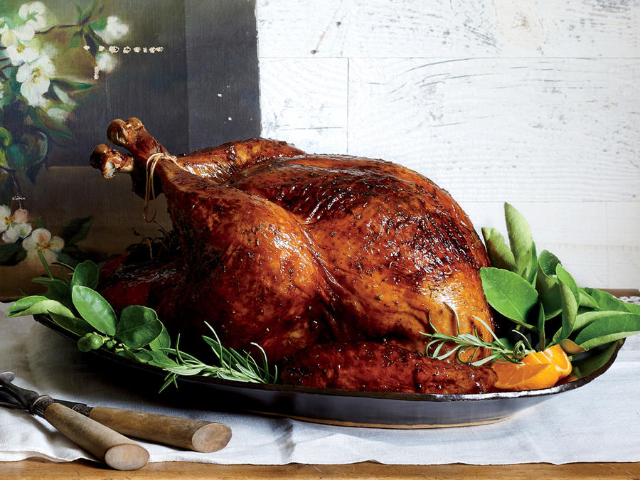 Rosemary-Orange Roast Turkey