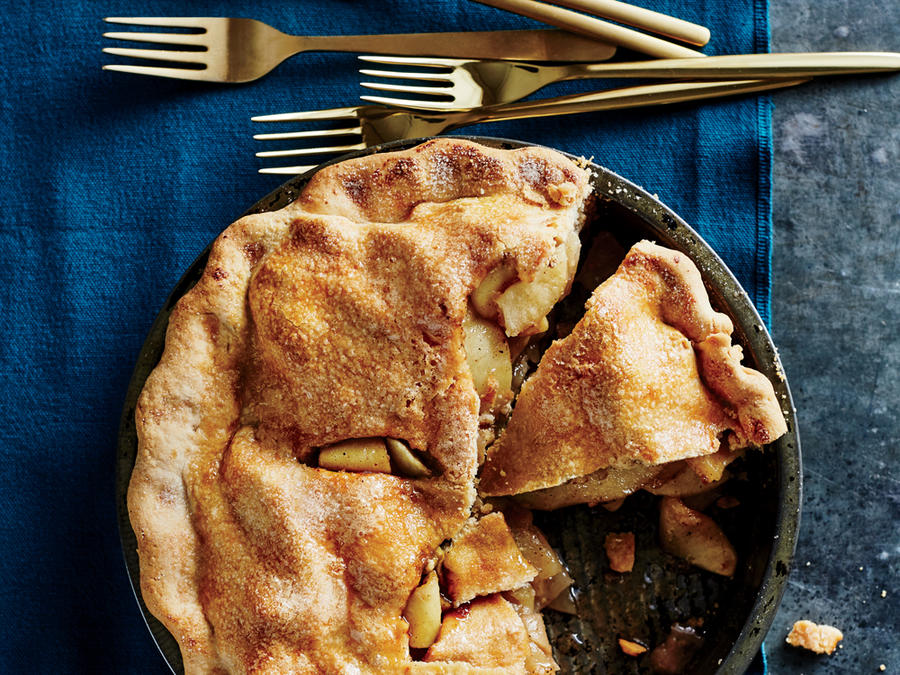 Double-Crust Apple Pie