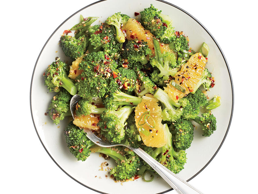 Orange-Sesame Broccoli