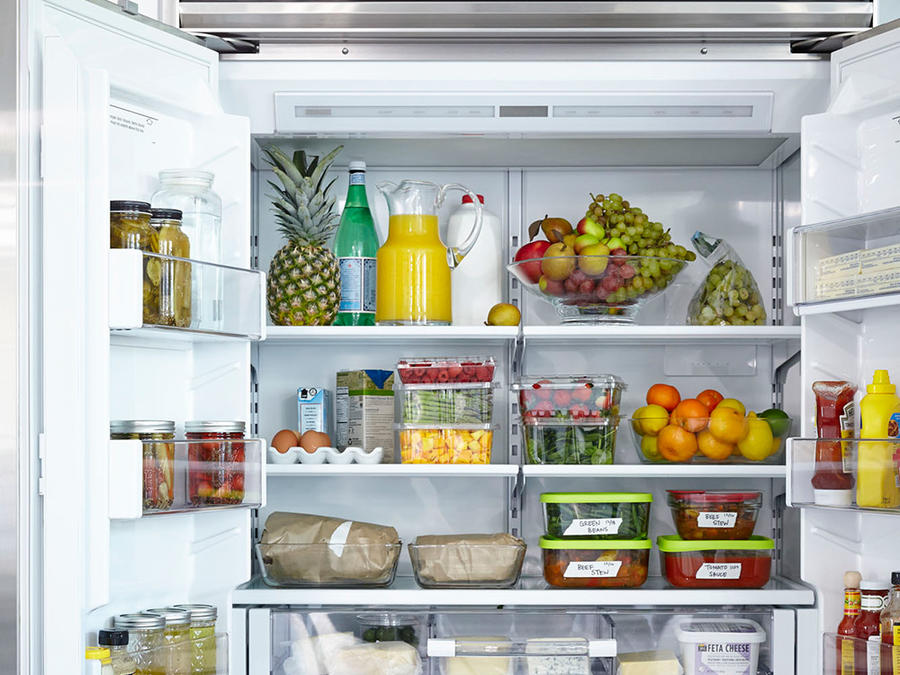 Anatomy Of A Healthy Fridge Cooking Light