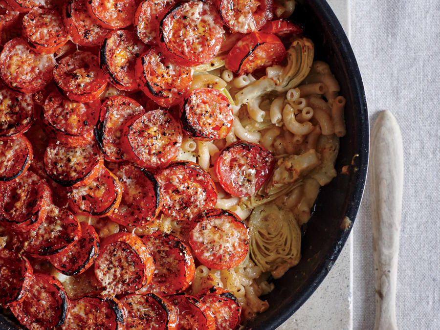Roasted Tomato Mac and Cheese