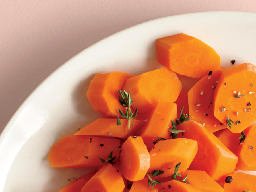 Carrots with Lemon and Thyme