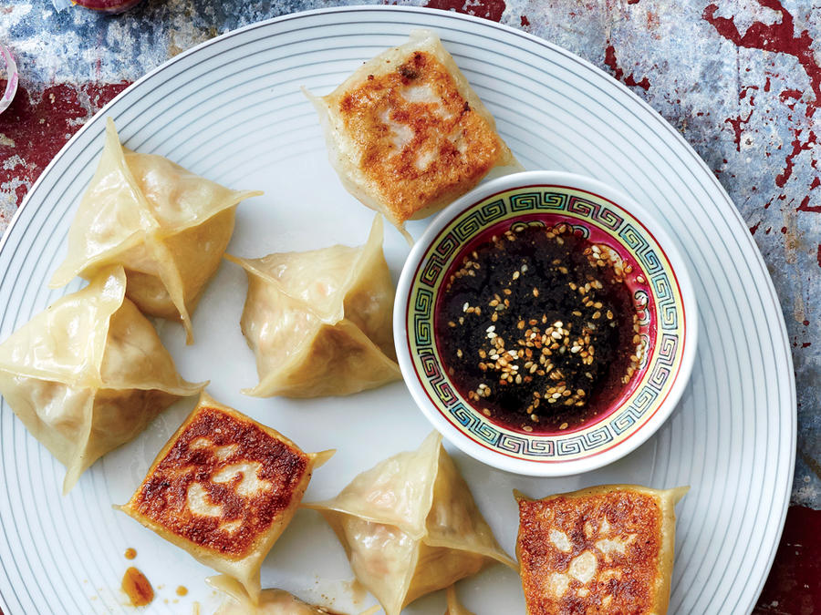 """""""Spring Roll"""" Pot Stickers"""