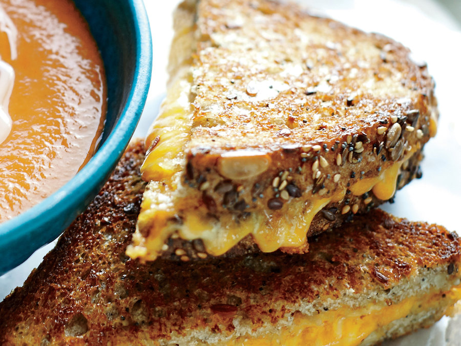 """Grilled Cheese Skillet """"Panini"""""""