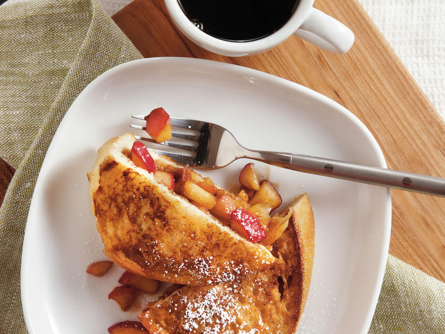 Cinnamon-Apple Stuffed French Toast