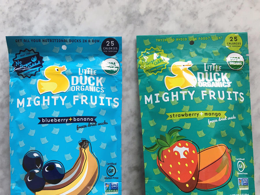 Little Duck Organics Might Fruit Freeze-Dried Snacks