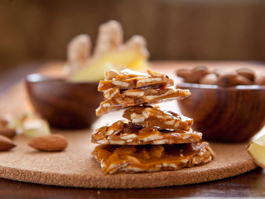 Sweetdragon Baking Ginger Almond Brittle