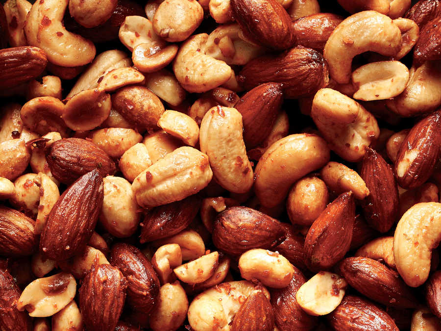 Spicy Soy Bar Nuts