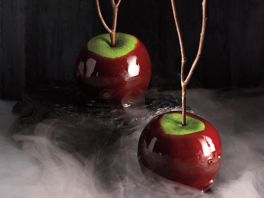 Cinnamon-Cider Candied Apples Recipe