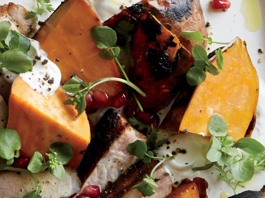 Coal-Roasted Sweet Potatoes