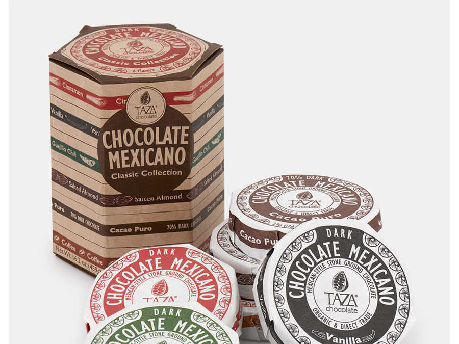 Taza Organic Mexicano Chocolate Sampler Gift Set