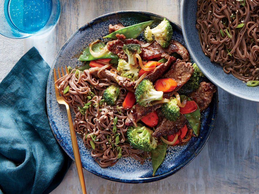 Mongolian Beef and Vegetables