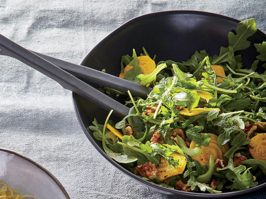 Arugula and Golden Beet Salad