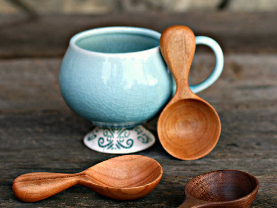 Old World Kitchen Artisan Coffee Scoop Set