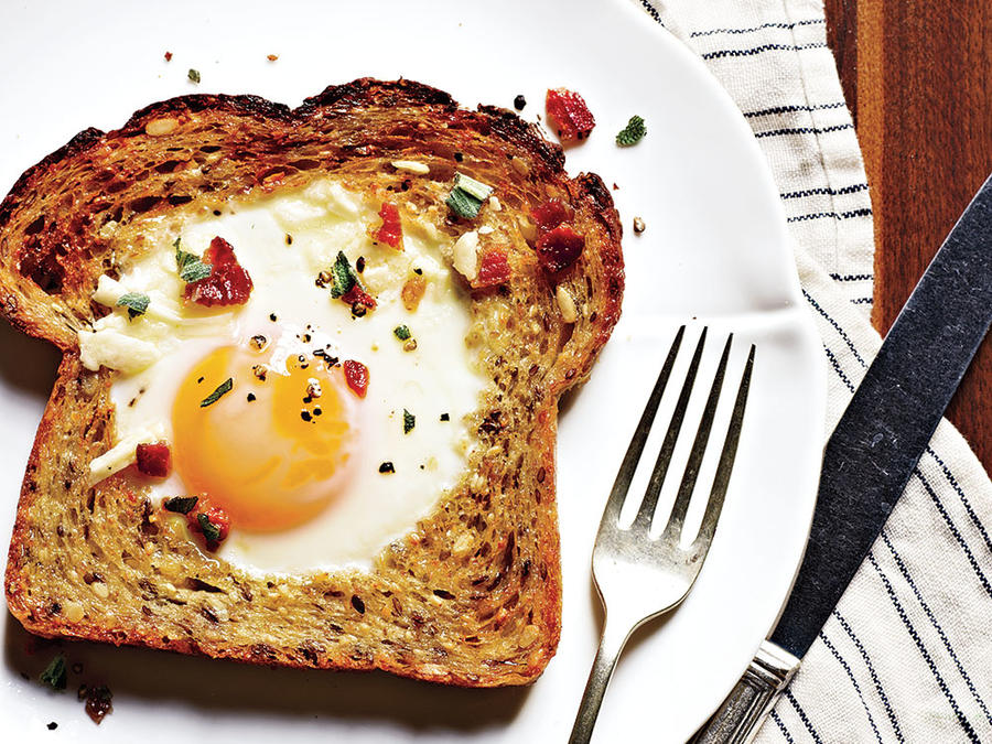 Baked Egg in a Hole Weight-Loss Plan
