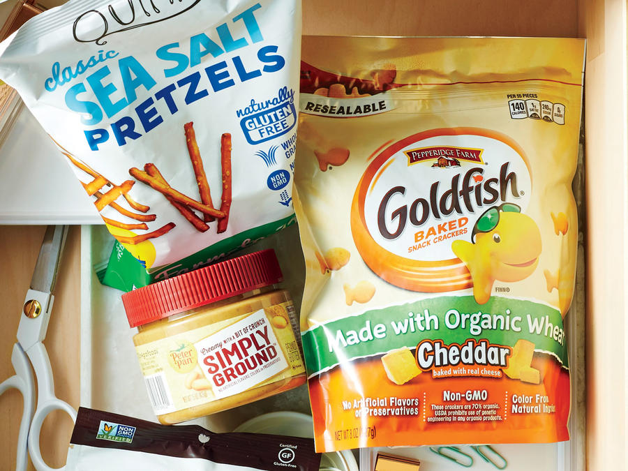 Goldfish Made with Organic Wheat