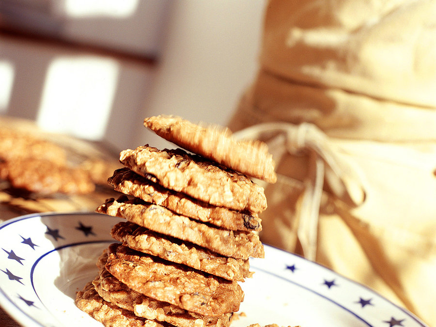 Giant Oatmeal Drop Cookies