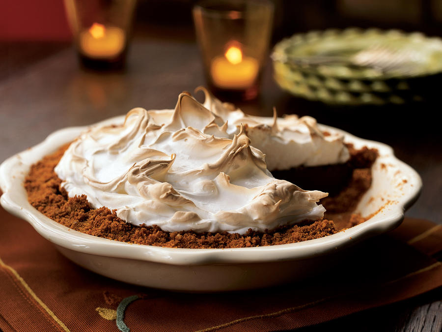 Chocolate-Walnut Meringue Pie Recipes