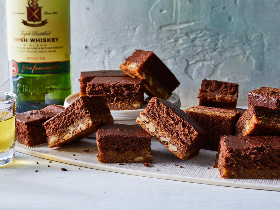 St. Patrick's Day Recipes: Black and Tan Brownies